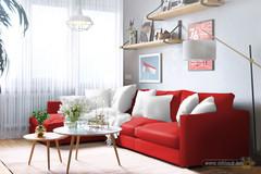 interior-merah-putih-menggoda