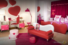 red--white-princess-bedroom