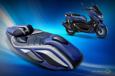 Sporty Stylish Blue NMAX